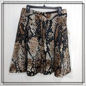 Worthington Skater Skirt with Pockets Size 12